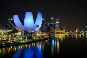 מוזיאון האומנות והמדע ArtScience Museum בסינגפור