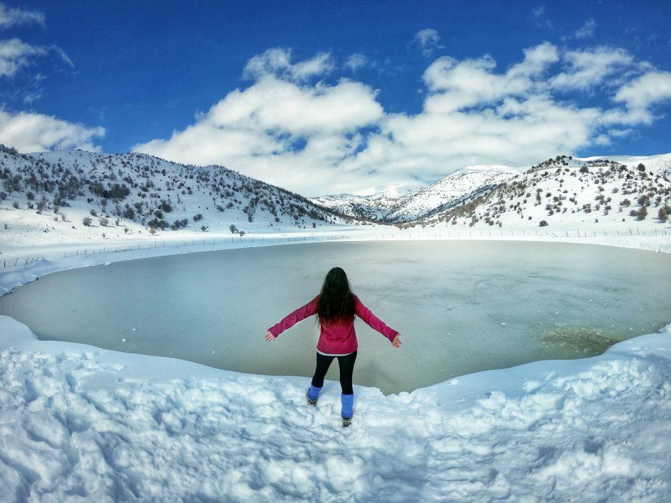 טיול שלג בישראל והחרמון