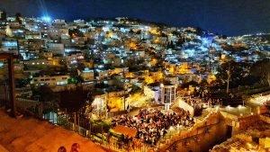 מופע אור-קולי בעיר דוד- ירושלים הקדומה