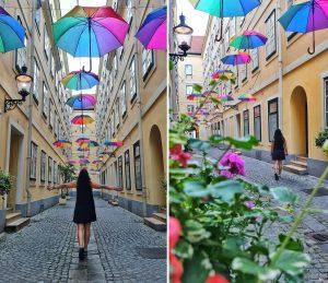סמטת המטריות וינה אוסטריה